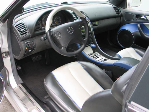 Mercedes-Benz CLK55 AMG, February 2005